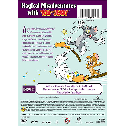Tom and Jerry: Magical Misadventures [DVD]