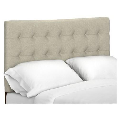 Beth Upholstered Linen Headboard - Handy Living