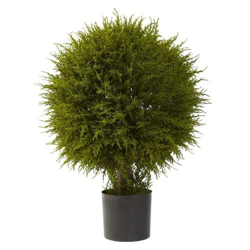 nearly natural Cedar Topiary