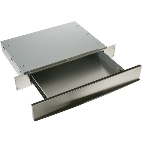 GE - Profile Advantium Wall Oven Storage Drawer - Stainless steel