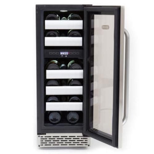 Whynter Elite 17 Bottle Dual Zone Built-in Wine Refrigerator