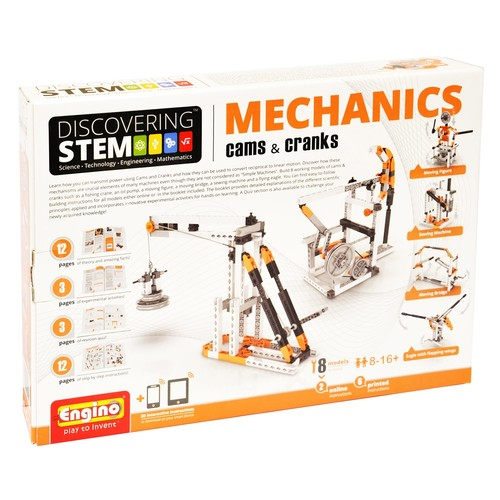 Engino STEM Mechanics Cams & Cranks Kit