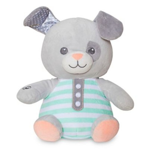 Soft Dreams Puppy Vibration Melody Soother in Grey