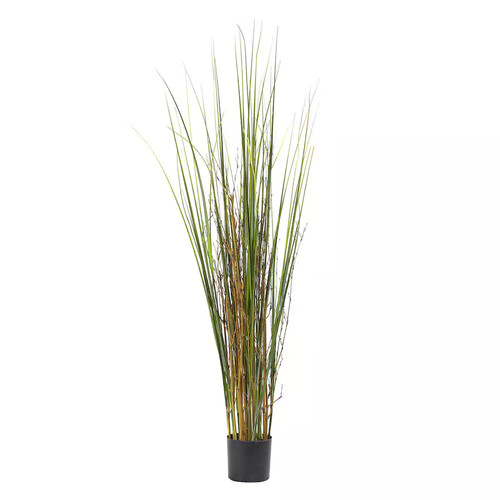 nearly natural Artificial Grass & Bamboo Plant