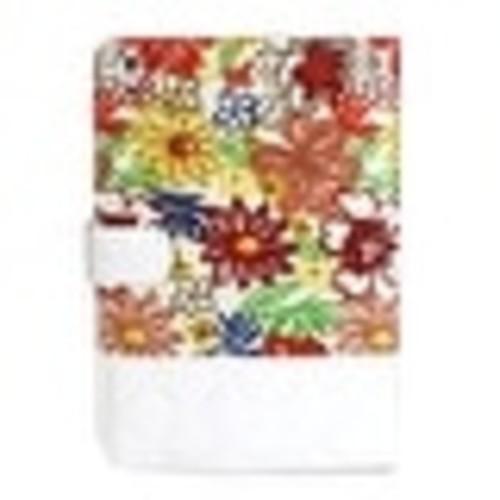 JAVOedge Quilted Spring Blossom Folio Case for the Apple iPad Mini (Black)