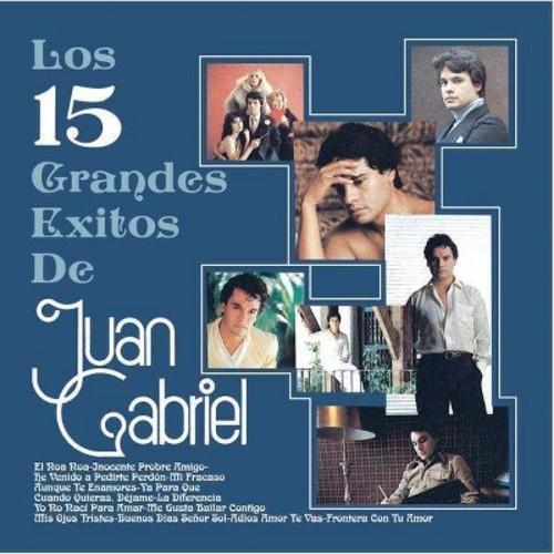 Juan Gabriel - Los 15 Grandes Exitos De Juan Gabriel