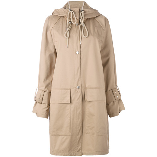 SEE BY CHLOÉ Ovoid Trench Coat