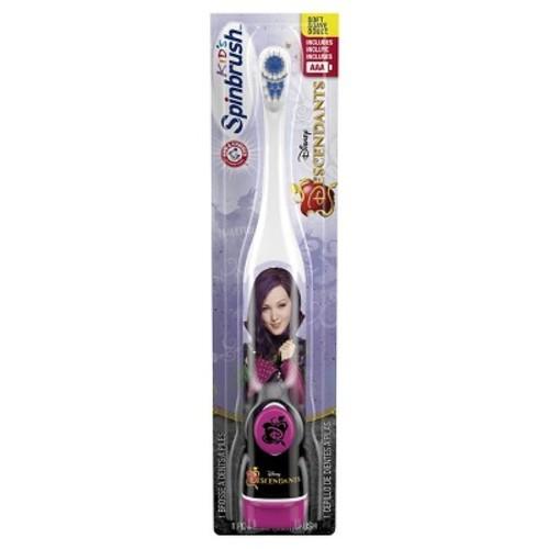 Arm and Hammer Spinbrush Kids Disney Descendants Battery Toothbrush