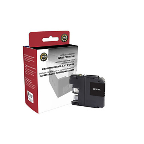 Clover Technologies Group High-Yield Remanufactured Ink Cartridge, Black, 118066 (Brother LC103BK)