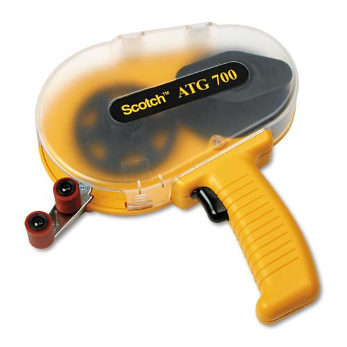 Scotch MMMATG700 Adhesive Transfer Tape Applicator, Clear Cover