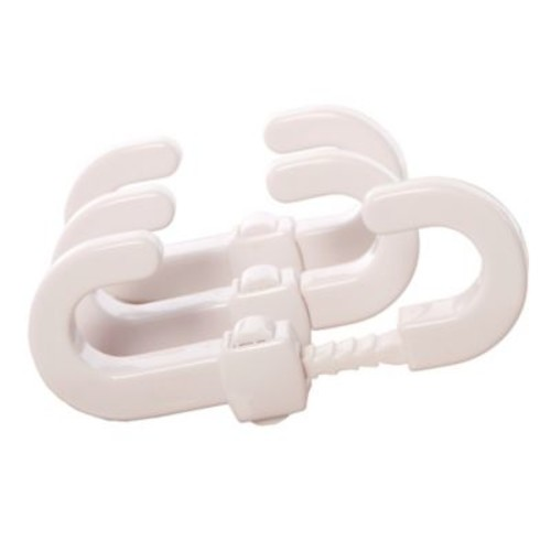 Dreambaby 3-Pack Secure-A-Lock in White