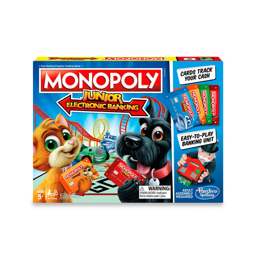 Monopoly Junior Electronic Banking by Hasbro Games