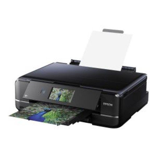 Epson Expression Photo XP-960 - Multifunction printer - color - ink-jet - Legal (8.5 in x 14 in) (original) - Ledger (media) - up to 8.1 ppm (copying) - up to 28 ppm (printing) - 120 sheets - USB 2.0,