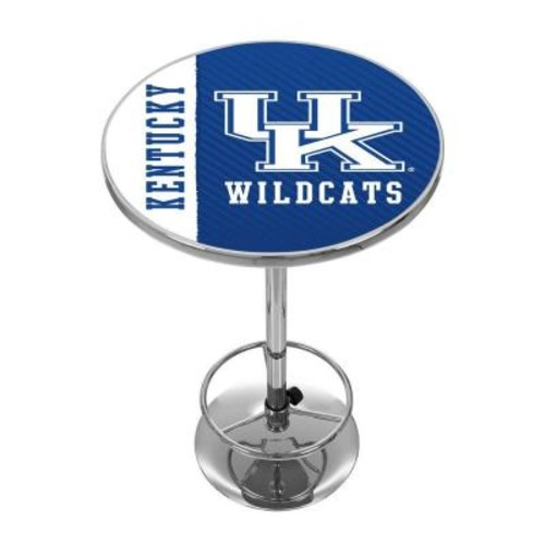 Trademark University of Kentucky Text Chrome Pub/Bar Table