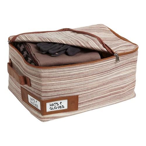Umbra Small Brown Artisan Crunch Storage Bag