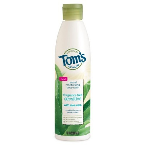Tom's of Maine Fragrance Free Sensitive Natural Body Wash - 12oz