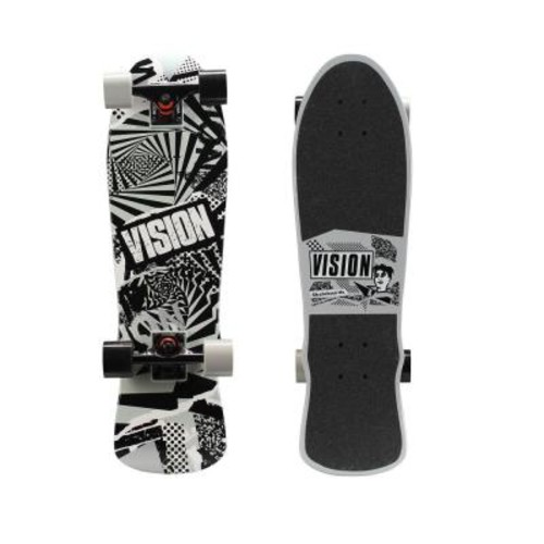 Vision 28 in. Mini Cruiser Skateboard in Twisted Graphic