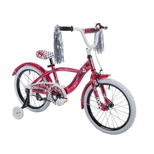 Girls 18 inch Huffy Minnie Mouse Bike