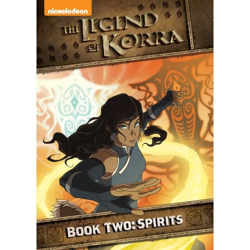 The Legend of Korra: Book Two - Spirits [2 Discs] [DVD]