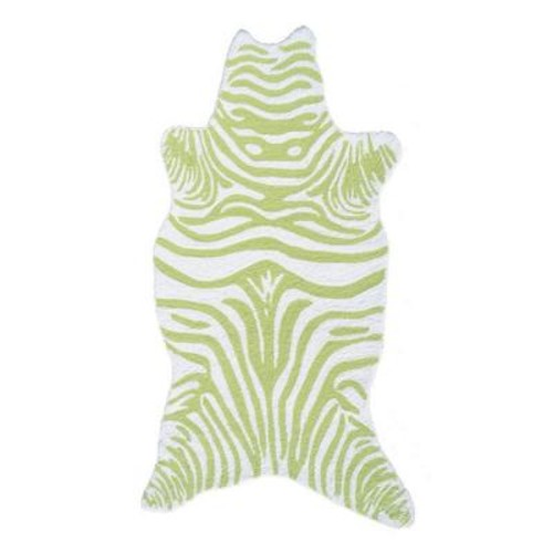 Filament Design Zebra Lime 2 ft. 8 in. x 4 ft. 8 in. Indoor Area Rug