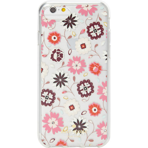 jeweled casa flora clear iphone 7 case