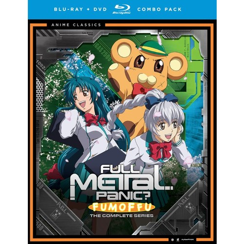 Full Metal Panic: Fumoffu - The Complete Series [Blu-ray/DVD] [4 Discs]