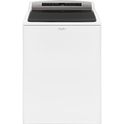 Whirlpool - 4.8 Cu. Ft. 27-Cycle Top-Loading Washer - White