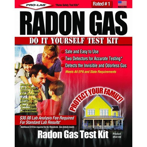 Pro Lab Radon Gas Test Kit - RA100