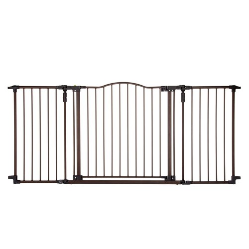 North States Windsor Extra-Wide Arch Pet Gate