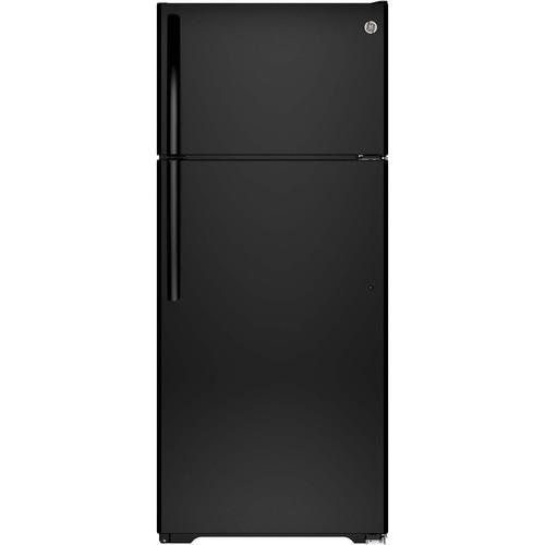 GIE18CTHBB 17.5 cu. ft. Top-Freezer Refrigerator - Black