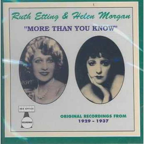 More Than You Know [CD]