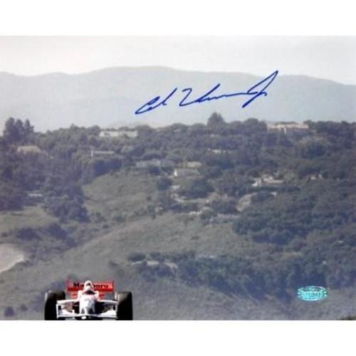 Al Unser Jr Monterey Autographed 16 x 20 Photo