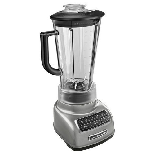 KitchenAid KSB1575 Five Speed Diamond Blender - Contour Silver