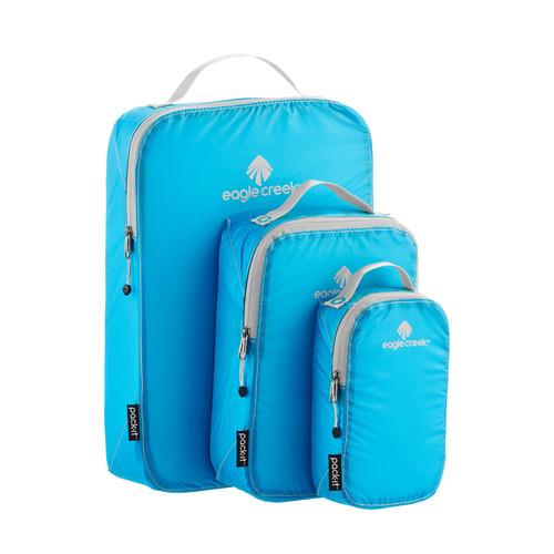 Eagle Creek Brilliant Blue Specter Pack-It Cube Set