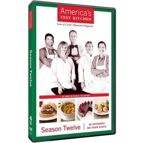 America's Test Kitchen: Season Twelve [4 Discs] [DVD]