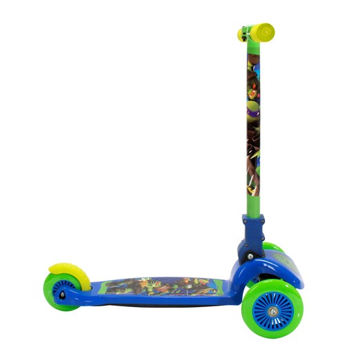 Nickelodeon Teenage Mutant Ninja Turtles 3 Wheel Leaning Scooter