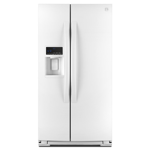 Kenmore Elite 51772 28 cu. ft. Side-by-Side Refrigerator - White
