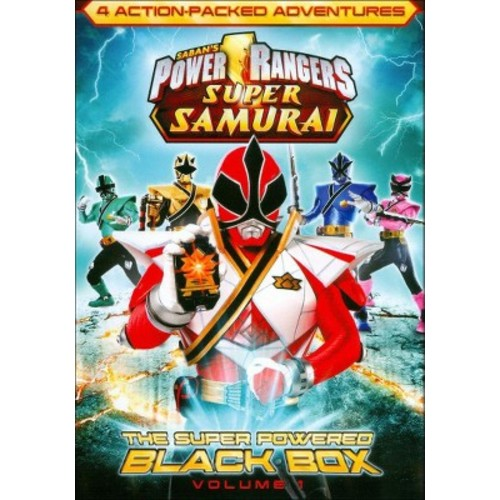 Power Rangers Super Samurai, Vol. 1: The Super Powered Black Box (dvd_video)
