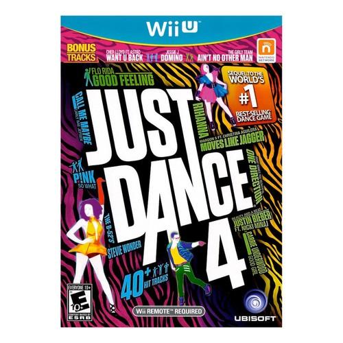 Just Dance 4 - Nintendo Wii U [Disc, Nintendo Wii U]