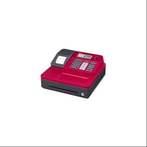 Casio SE-G1SC-RD Thermal Print Cash Register, Red