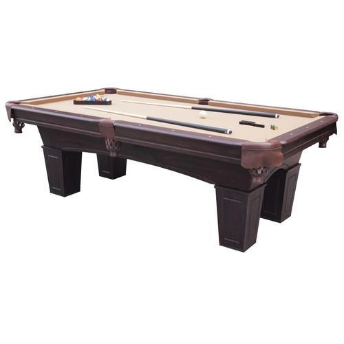Barrington 8 Crestmont Billiard Table w/ Table Tennis Top