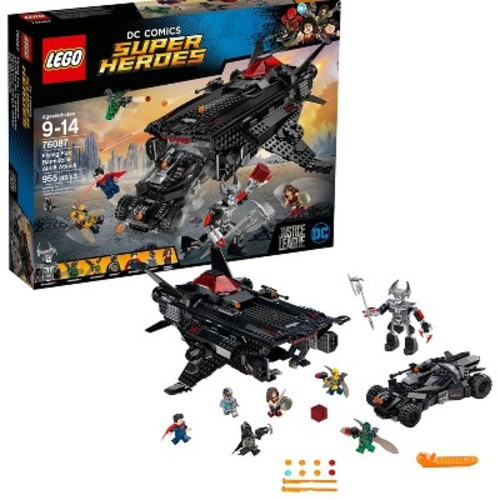 LEGO DC Comics Justice League Super Heroes Flying Fox: Batmobile Airlift Attack 76087