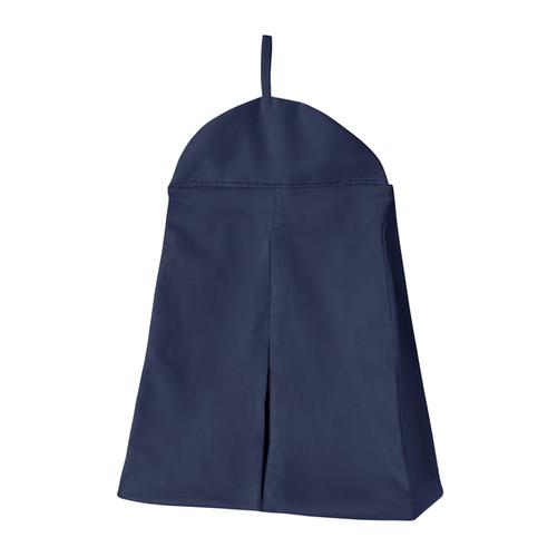 Sweet Jojo Designs Navy Blue Diaper Stacker