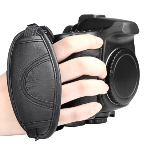 Insten Camera Padded Secure Grip Hand Strap Wrist for DSLR Cameras (Canon Nikon Olympus Pentax Sony and More)