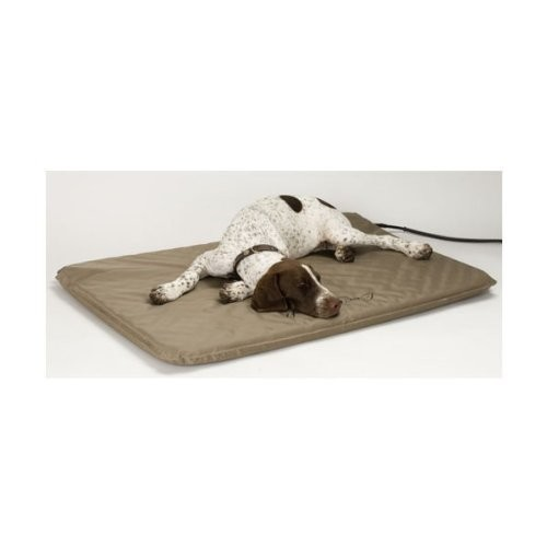 K&H Pet Products Lectro-Soft Outdoor Heated Bed with FREE Cover - MET Safety Listed [Standard Packaging, Medium (19