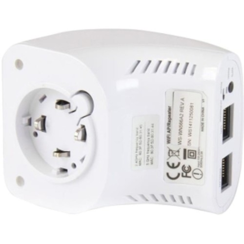 StarTech.com AC750 Dual Band Wireless-AC AP, Router & Repeater - Wall Plug - Wireless router - 802.11a/b/g/n/ac - Dual Band - wall-pluggable