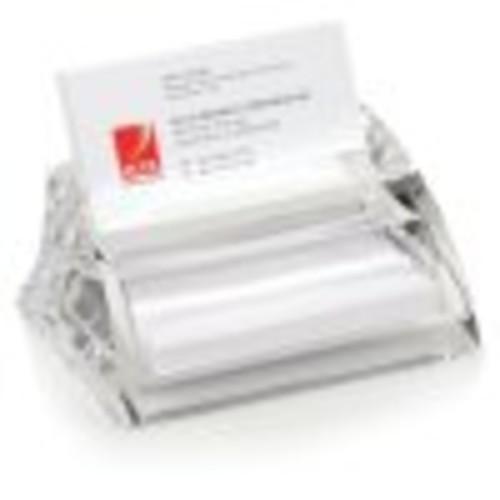 Swingline Stratus Acrylic Business Card Holder, 4 1/2