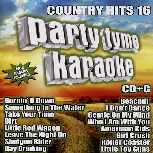 Party Tyme Karaoke: Country Hits, Vol. 16 [CD + G]