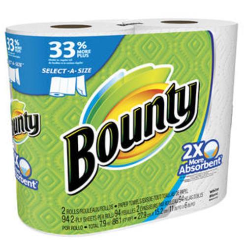 Procter & Gamble 95020 Big Roll Select-A-Size Paper Towel, White, 2-Pk. - Quantity 12