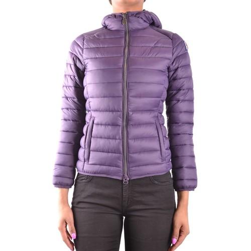 Invicta Women's Purple Polyamide Down Jacket